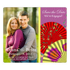 save the date wedding magnets zoo keeper lion trainer themed save the date wedding magnets