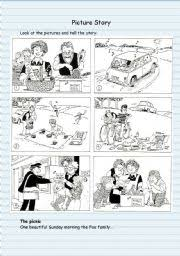 english teaching worksheets picture story