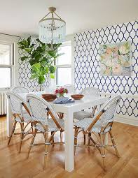 Navy Parsons Chair West Elm Parsons Dining Table Transitional Dining Room