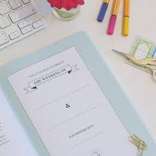 Wedding Planner Book Giveaway The Perfect Little Wedding Planner Book P A P E R