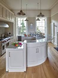 rounded kitchen island a kitchen for entertaining apartment kitchen kitchens and