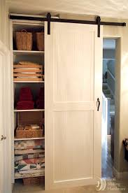 Build Closet Door New Pantry Build With Sliding Barn Style Doors Budgetupgrade