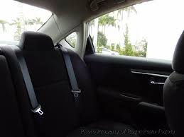 lexus of palm beach body shop 2013 used nissan altima 4dr sedan i4 2 5 sv at royal palm toyota