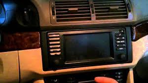 bmw e39 with navigation aux ipod input installation bm53 radio