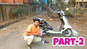 servicing of scooter honda activa 3g part 2 youtube