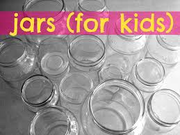 mason jars for kids a and a glue gun