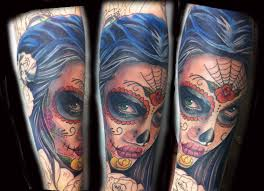 day of the dead portrait color great ideas