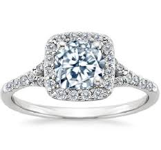 halo cushion cut engagement ring 1 00 carat center cushion cut halo engagement ring