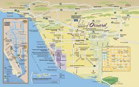me a map of california map of oxnard find your way around oxnard and ventura county
