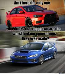 blob eye subaru dont kill me its my opinion and in my opinion the best ones are