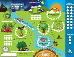 Northern Lights Map The Canadian Path Beaver Scouts 137th Ottawa