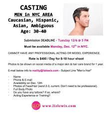 commercial model job description 400 day modeling job casting call for hair models hair models