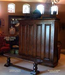 Tuscan Style Furniture by Rustic Furniture St Mark Plasma Cabinet Tuscan Style Furniture