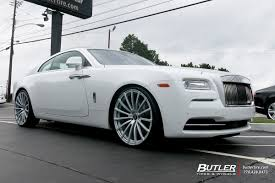 rolls royce van rolls royce wraith with 24in avant garde agl20 wheels exclusively
