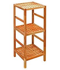 standregal küche regal standregal hochregal 85 cm aus walnuss massivholz für bad