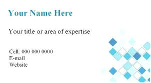 enchanting blank business card template word 2010 best credit