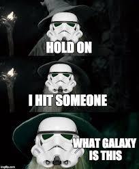 Star Wars Stormtrooper Meme - confuse stormtrooper imgflip