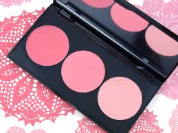smashbox light it up blush palette smashbox l a lights blush highlight palette in pacific coast