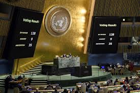 onu si e onu usa israele palestina onu 128 paesi si oppongono a gerusalemme