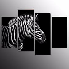 Zebra Home Decorations Compare Prices On Zebra Canvas Painting Online Shopping Buy Low