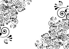 clipart ornamental floral flourish