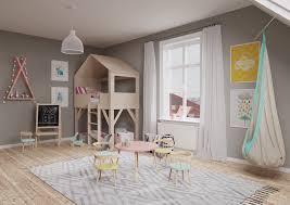 chambre fille taupe chambre d enfant en bois clair et tons pastel un espace scandinave