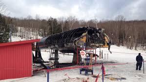 Chair Lift In Gatlinburg Ski Bromont Lift Heavily Damaged In Overnight Fire U2013 Lift Blog