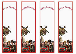 how train your dragon bookmarks birthday printable how train your dragon bookmarks
