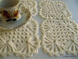 crochet coaster pattern crochet home decor pattern diy coasters