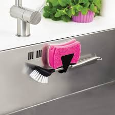 Kitchen Sink Brush Let Your Washing Up Brush Or Sponge Hang Discreetly To In The