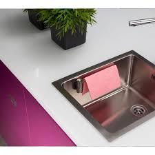 Kitchen Sink Holder by Magisso Straight Stainless Steel Kitchen Cloth Holder Magisso