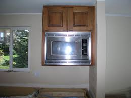 microwave cabinet built in designs for kitchen remodel ideas