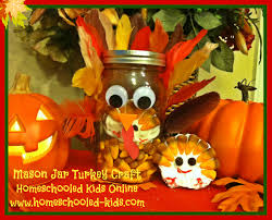 magazine for homeschooled kids mason jar turkey craft for kids