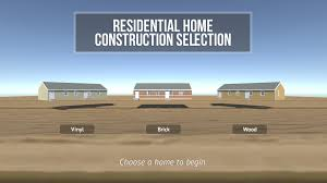 residential home construction training simulation digital