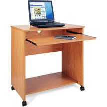 Walmart Desk Computer Computer Desk Cart In Oak 36 96