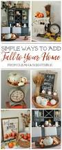 simple fall decor inspiration clean and scentsible