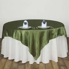 table overlays for wedding reception willow green satin 90x90 square table overlay wedding reception