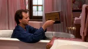 Challenge Bathtub Bill Murray Takes The Toaster Bathtub Challenge Imgur