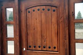 Pre Stained Interior Doors by Rustic Tuscany Knotty Alder Entry Doors With Sidelights