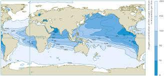 map world oceans oxygen world review