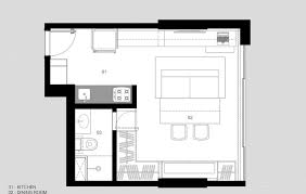 designed by bep architects the apartment is just 30 square meters