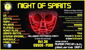 halloween spirit hours upcoming events parties 31 oct 2016 goabase