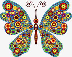 colorful butterfly colourful butterfly png image and