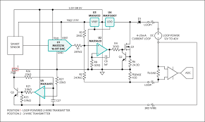 high accuracy 4 20ma current loop transmitter