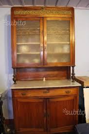 credenze antiche prezzi credenza antica in ciliegio stile liberty marmo arredamento e