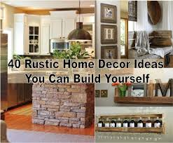 collection cheap rustic home decor photos the