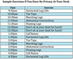 Desk Exercises To Burn Calories The 25 Best Desk Exercises Ideas On Pinterest Office Workouts