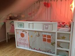 cabane fille chambre sous meuble une fermee mobilier gautier fille chambre pour set