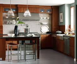 Kitchen Cherry Cabinets Kitchen With Cherry Cabinets Kemper Cabinetry