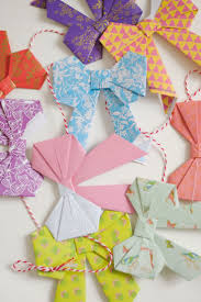 Gift Wrapping Bow Ideas - origami best origami bow ideas on oragami star d paper 3d origami